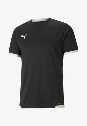 FUSSBALL  TEAMSPORT TEXTIL  TRIKOTS TEAMLIGA TRIKOT - Basic T-shirt - puma black puma white