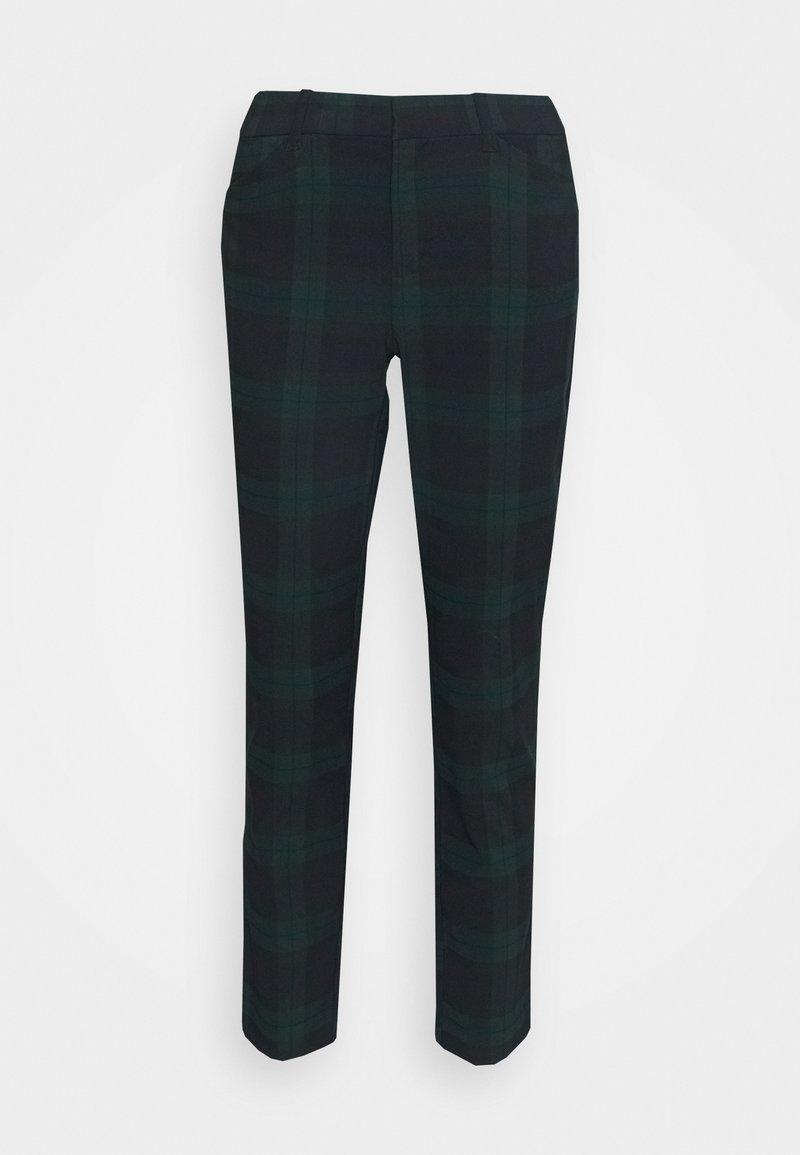 GAP - ANKLE BISTRETCH - Trousers - blackwatch