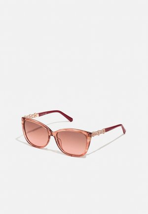 Sunglasses - shiny pink/brown