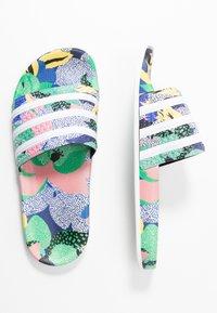 adidas Originals - ADILETTE  - Muiltjes - super color/footwear white/legend ink - 1