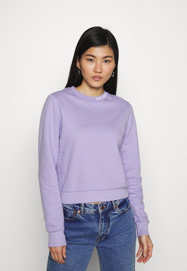 ZUMU CREW - Mikina - sweet lavender