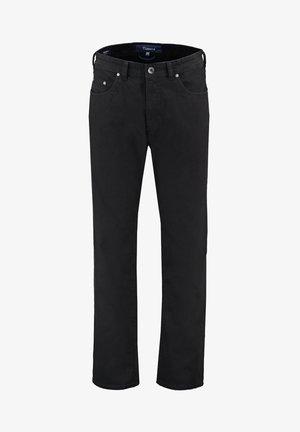 NEVIO - Straight leg jeans - schwarz