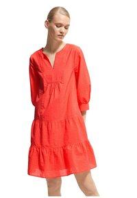 comma - Jumper dress - coral - 0