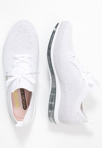 Skechers Sport - SKECH AIR  - Slip-ons - white/silver - 3