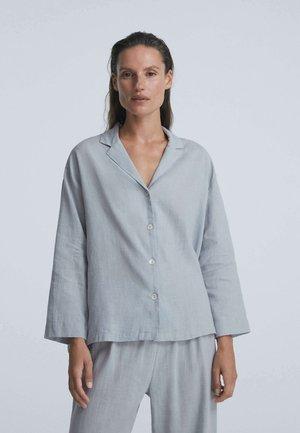 Nattøj trøjer - blue-grey