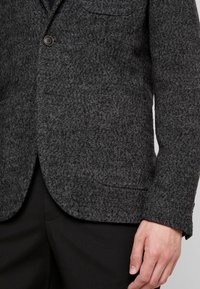 Sisley - Suit jacket - mottled dark grey - 4
