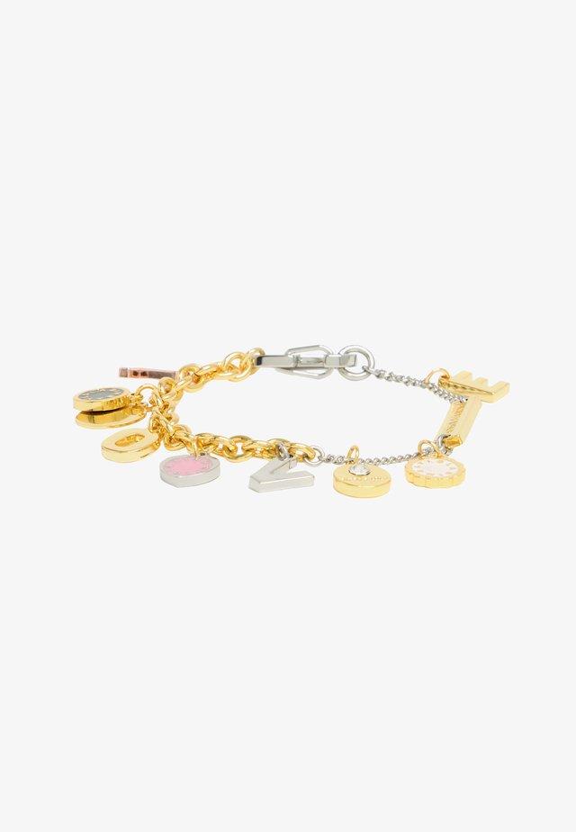 Bracelet - multigold