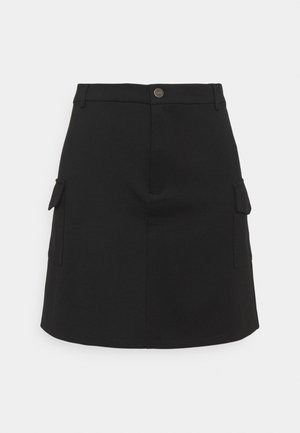 NMHIPE PALMA SKIRT  - Mini skirt - black