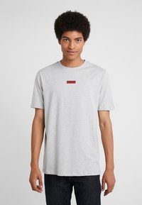 HUGO - DURNED - T-shirt imprimé - open grey - 0