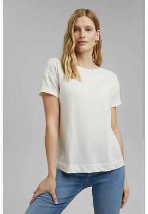 PER COO CLOUDY - Basic T-shirt - off white