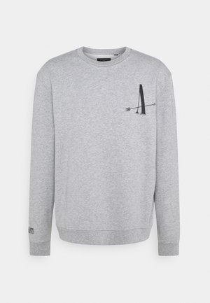 TARGET CREW - Sweatshirt - grey marl