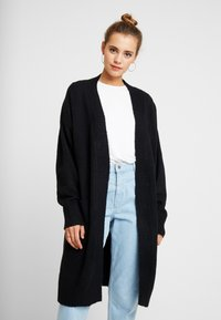Nly by Nelly - COZY CARDIGAN - Cardigan - black - 0