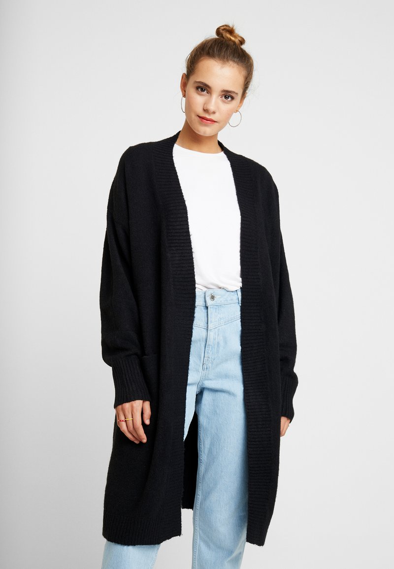 Nly by Nelly - COZY CARDIGAN - Cardigan - black