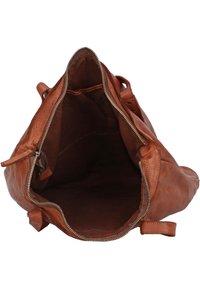 Harold's - SUBMARINE - Tote bag - cognac - 4