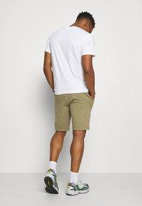 Calvin Klein - SMALL LOGO - Shorts - green - 2