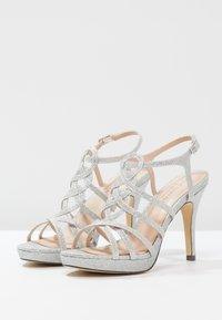 Menbur - BEGONIA - High heeled sandals - plata - 3