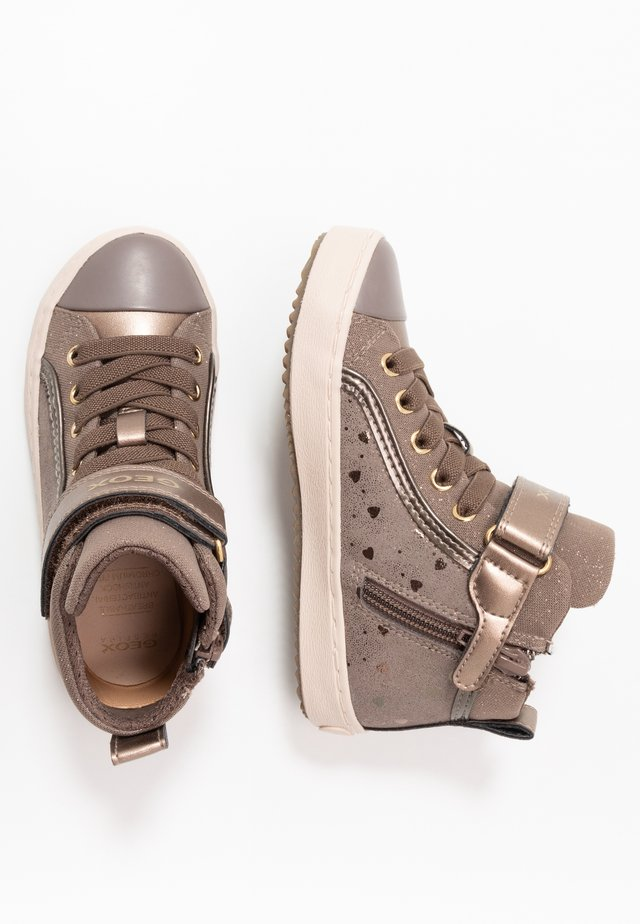 KALISPERA GIRL - High-top trainers - dark beige
