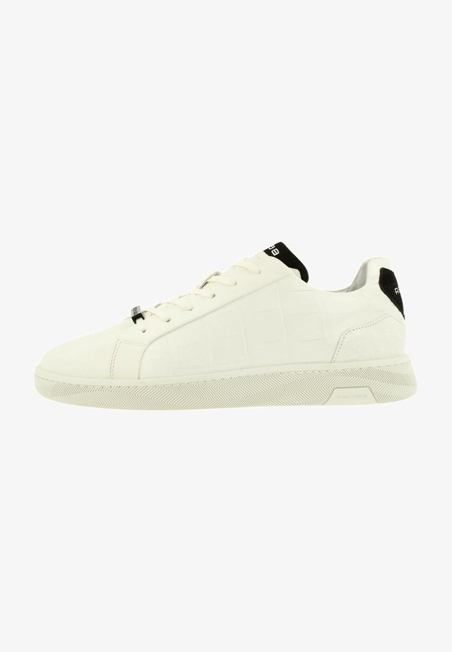 ZEKE CROCO - Sneakers laag - wht