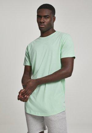 SHAPED LONG TEE DO NOT USE - Basic T-shirt - neomint