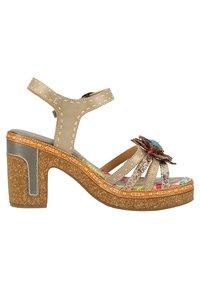 LAURA VITA - High heeled sandals - grey - 5
