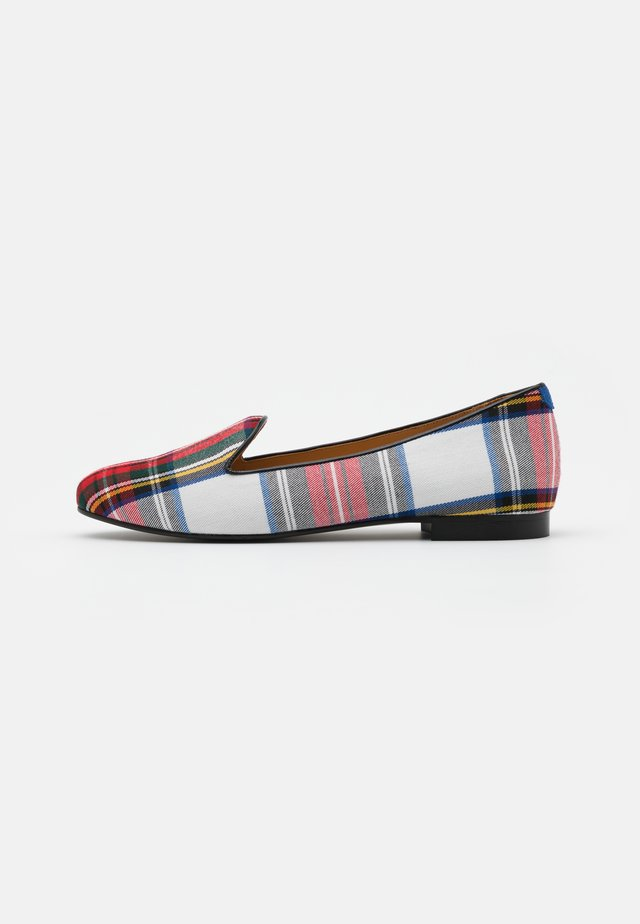 CLASSIC - Slip-ons - blue/red/black vivo