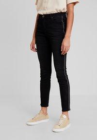 Opus - EVITA  - Jeans Slim Fit - deep black - 3