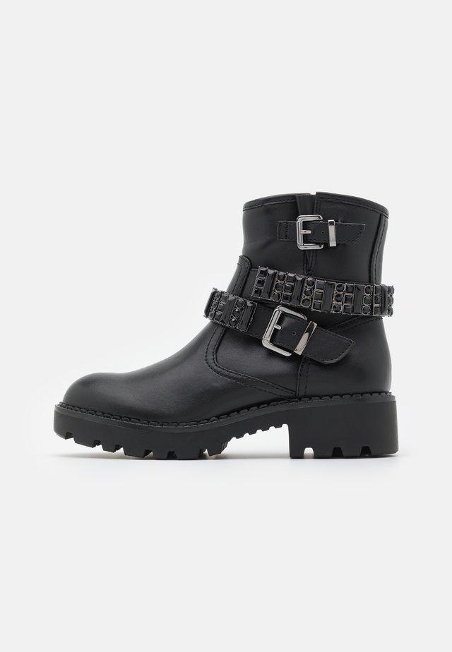 MORIAH - Cowboy/biker ankle boot - black