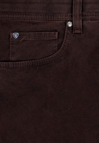 Brühl - MIT SPEZIAL-SCHMIRGEL - Slim fit jeans - anthrazit - 5