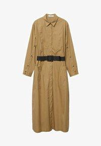 BELINDA - Košilové šaty - mellembrun