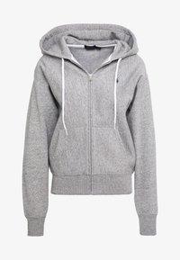 Polo Ralph Lauren - SEASONAL - Zip-up hoodie - dark vintage heather - 4