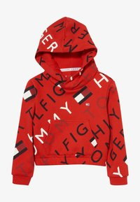 Tommy Hilfiger - SPORTS PRINTED LOGO HOODIE - Hoodie - red - 2