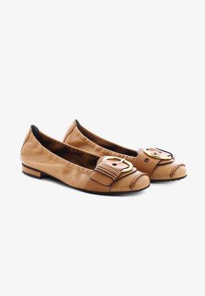 MALU - Ballet pumps - cognac