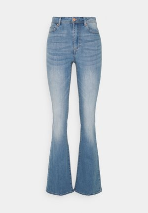 ONLWAUW LIFE FLARE  - Flared Jeans - light medium blue