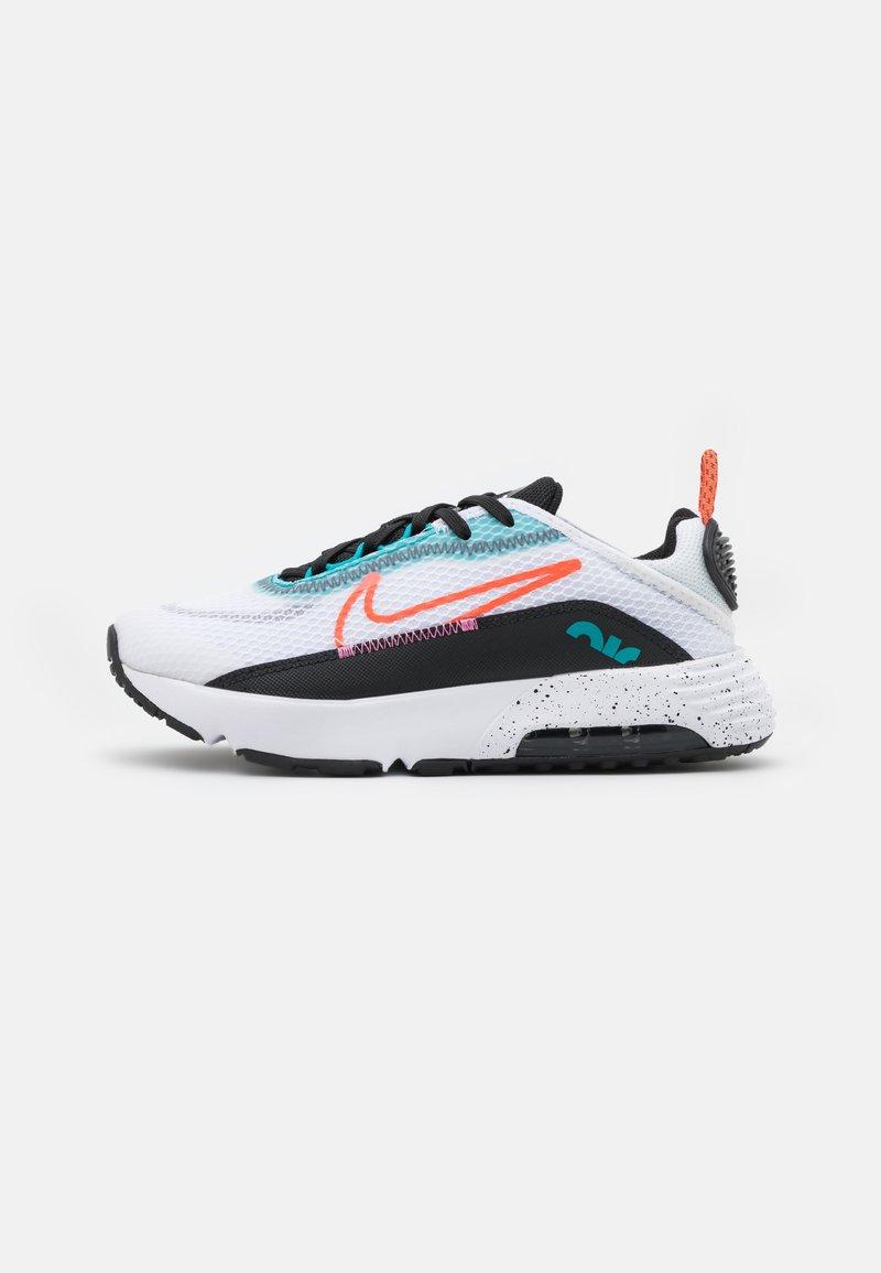 Nike Sportswear - AIR MAX 2090 UNISEX - Sneakers basse - white/turf orange/black/aquamarine