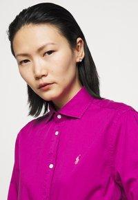 Polo Ralph Lauren - Button-down blouse - bright magenta - 3