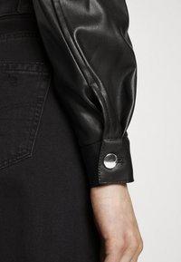 ONLY - ONLWESTA  - Faux leather jacket - black - 3