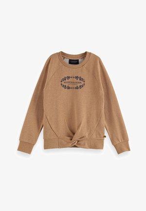 Sweatshirt - sand melange