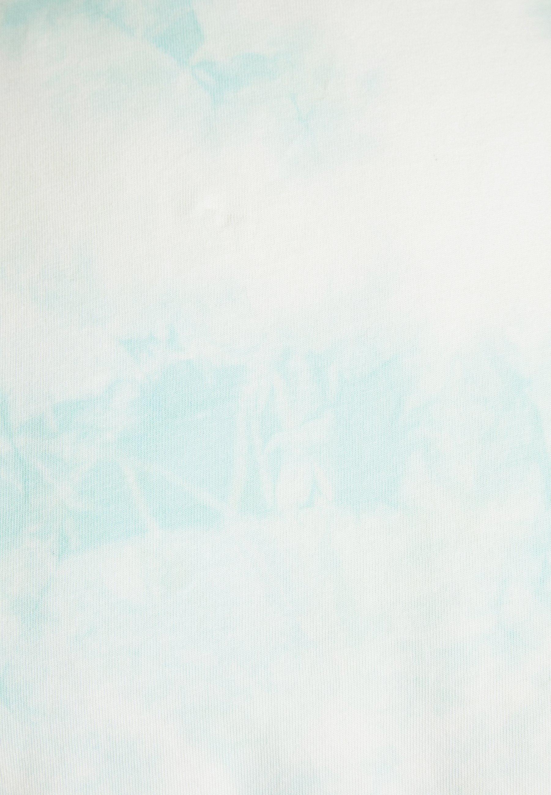 Weekday BILLY WASHED  - Print T-shirt - blue/green hvHff