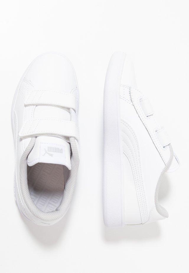 PUMA SMASH V2 L V PS - Sneakersy niskie - white