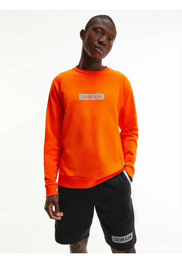 Sweatshirt - danger orange