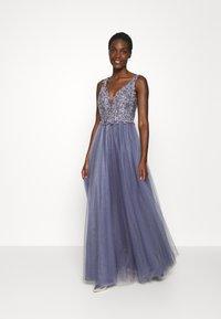 Luxuar Fashion - Společenské šaty - rauchblau - 1