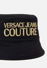 Versace Jeans Couture - UNISEX - Hat - black/gold-coloured - 5
