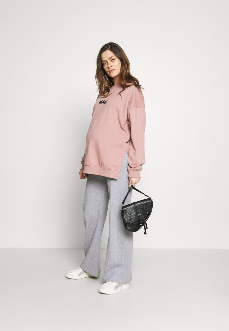 Missguided Maternity MAMA - Sweatshirt - rose pink/rosa xsmzcR