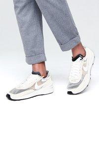 Nike Sportswear - WAFFLE ONE - Sneakers - summit white/white-black-orange - 0