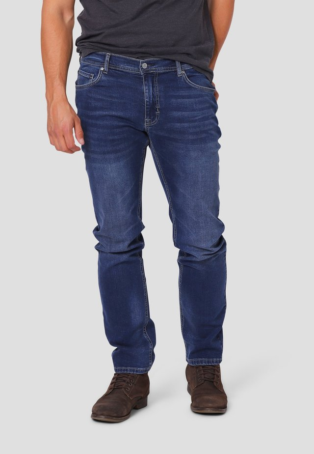 FELIX - Jeans Slim Fit - blue texas used