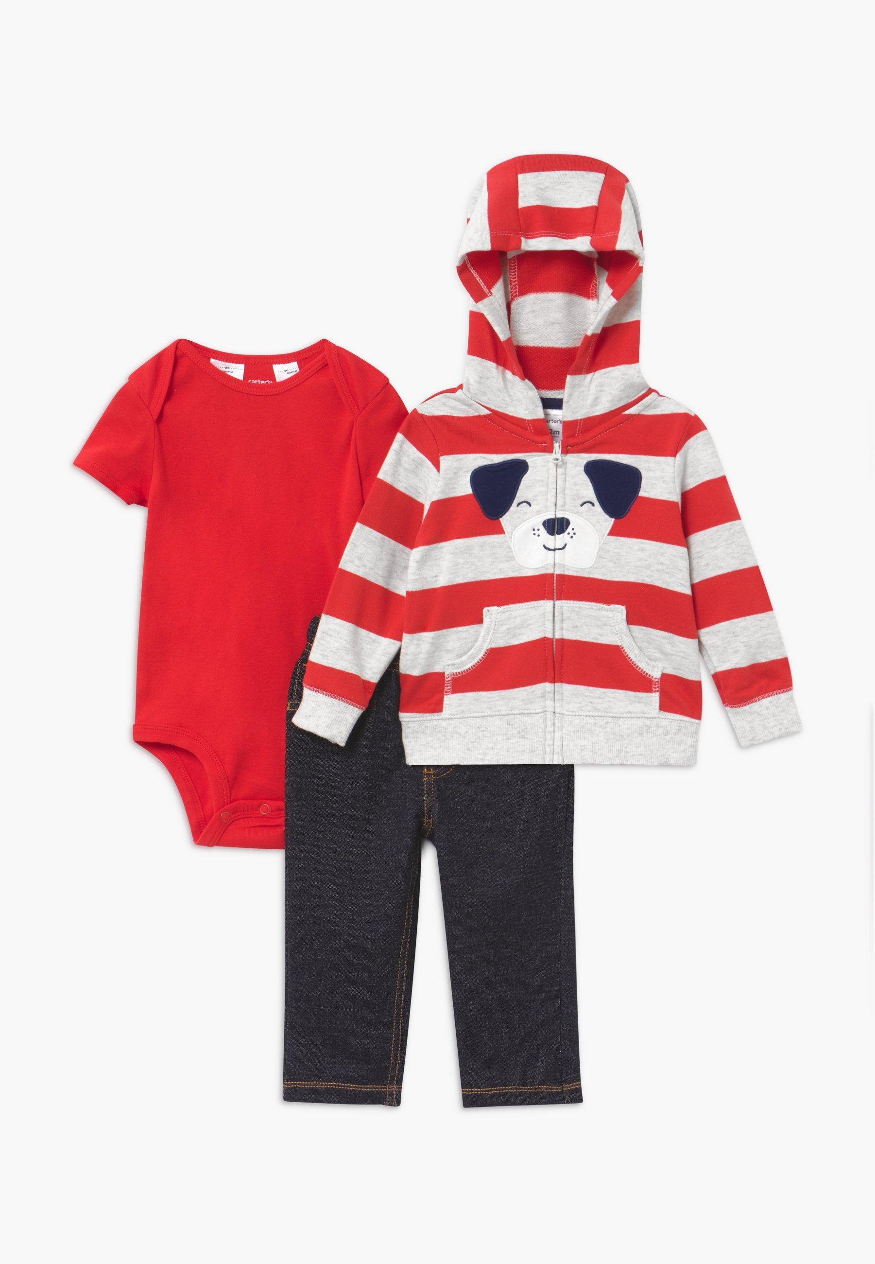 Große Förderung Carter's RED STRIPE SET - Sweatjacke - red | Damenbekleidung 2020