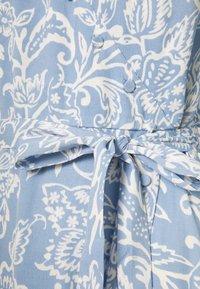Marks & Spencer London - PAISLEY BUT DRESS - Vestido informal - light blue - 2