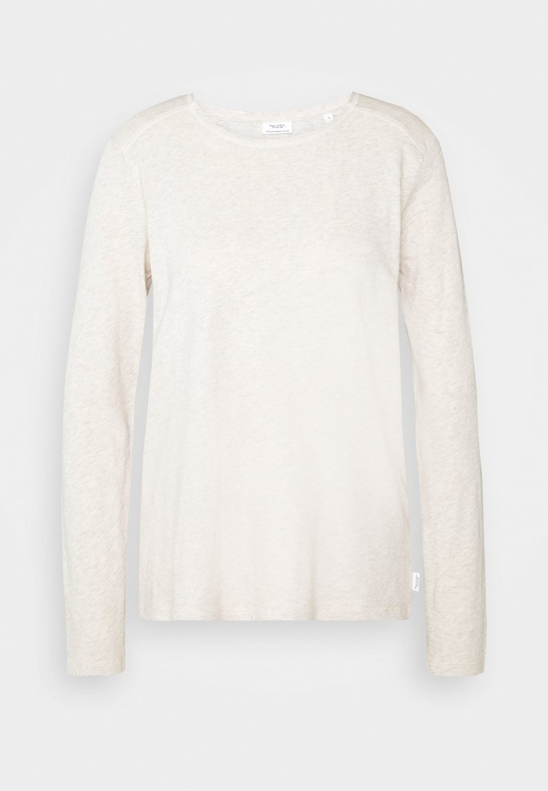 Marc O'Polo DENIM - Long sleeved top - beige melange