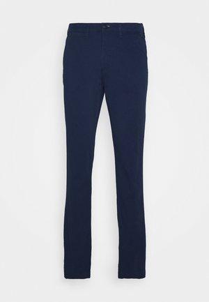 SLHSLIM MILES FLEX PANTS - Chinos - insignia blue