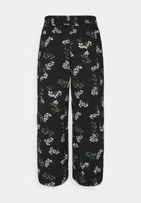 Vero Moda Tall - VMSAGA CULOTTE PANT - Bukser - black - 1